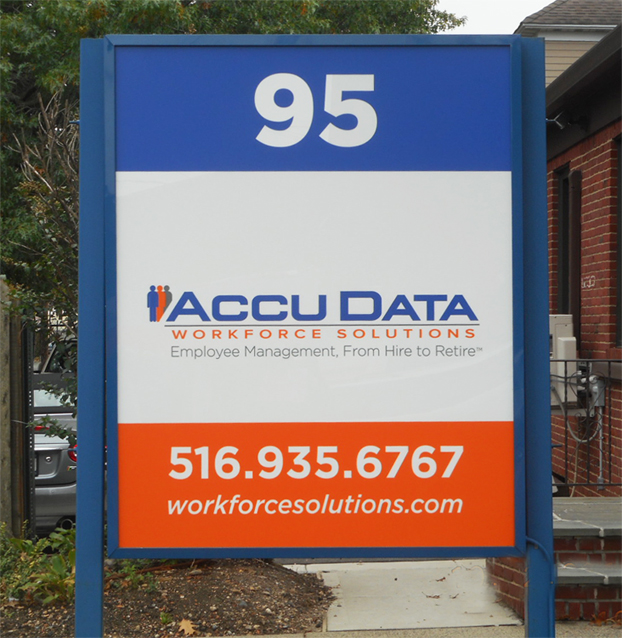 Accu Data - Sign Face Replacement