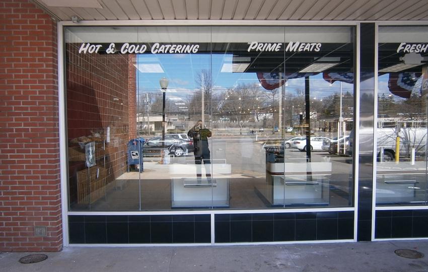 Caggiano's Gourmet Market Storefront Vinyl Graphics
