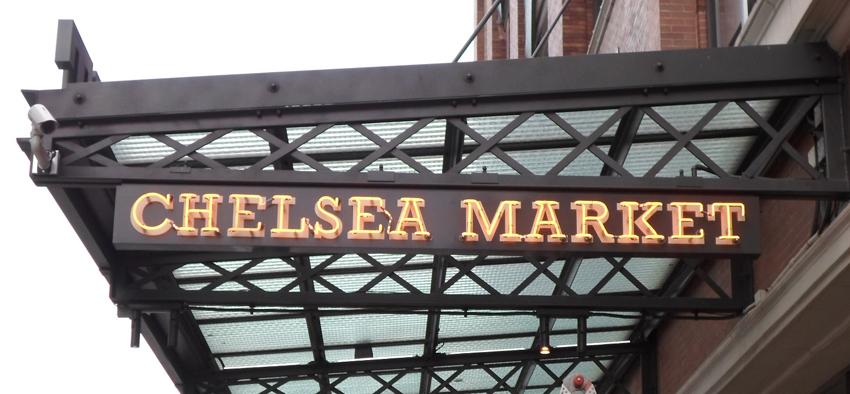 neon sign chelsea market