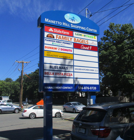 Manetto Hill Shopping Center