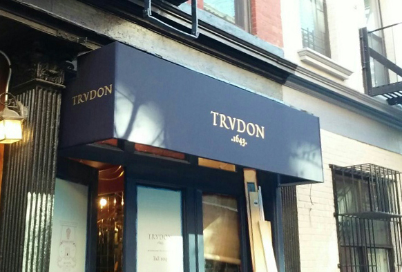 trudon trvdon awning tee pee signs